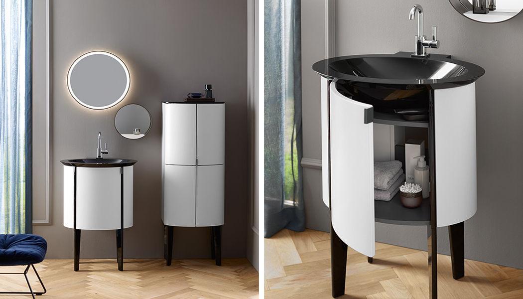 BURGBAD Meuble vasque Meubles de salle de bains Bain Sanitaires Salle de bains | Design Contemporain