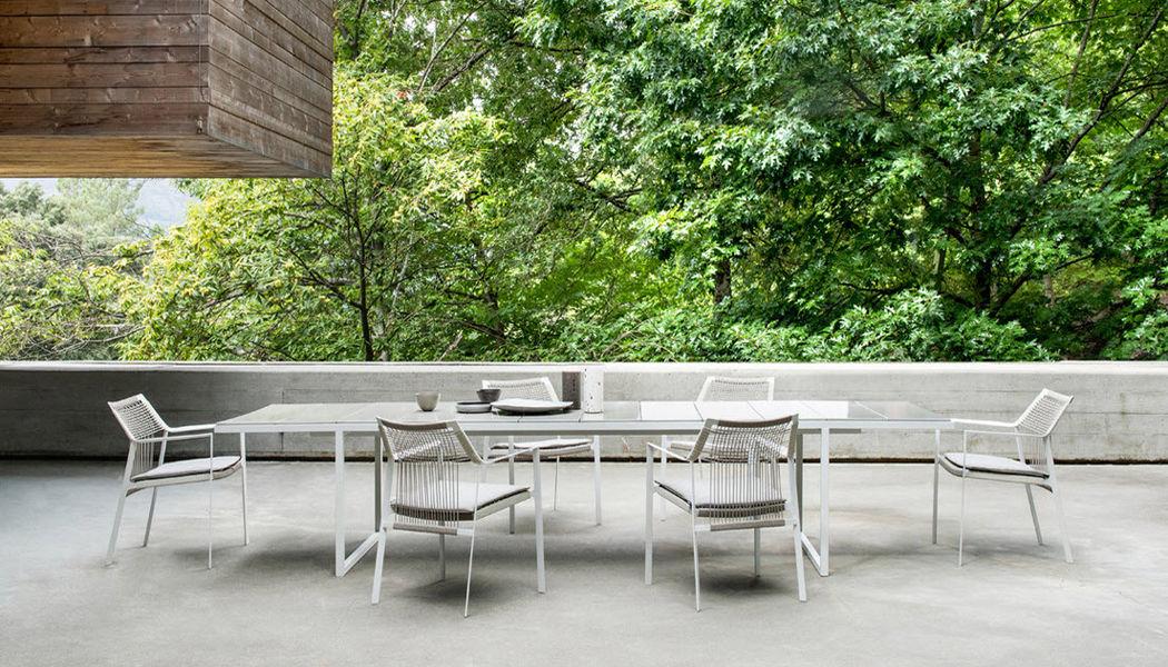 Tribù Fauteuil de jardin Fauteuils d'extérieur Jardin Mobilier Jardin-Piscine | Design Contemporain