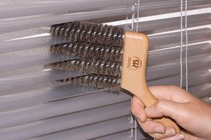 Redecker - goupillon de store 4 brosses - Brosse De Nettoyage Pour Store
