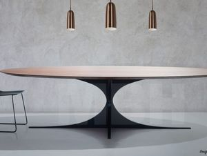 MBH INTERIOR - Table de repas ovale