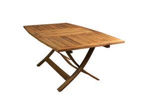 MEUBLES EN MERRAIN - Table de jardin à rallonges