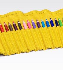FABRIANO BOUTIQUE - yellow pencil case - Crayons De Couleur