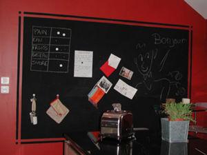 Magnetude Peinture tableau pour écrire à la craie