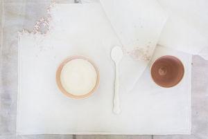 Set de table-ILLUSTRE PARIS-Blanc Lait