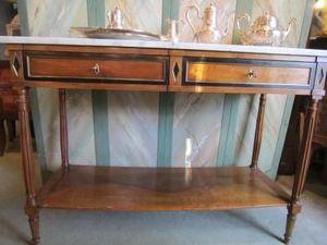 Galerie Kerdrain - console louis xvi - Console À Tiroir