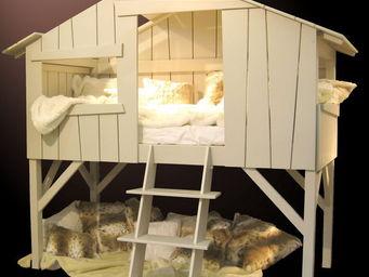 Mezzaline - cabane - Lit Cabane Enfant