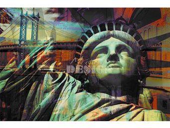 Magel'design - liberty dream 120x80 cm , 3d effet relief - Tableau Contemporain