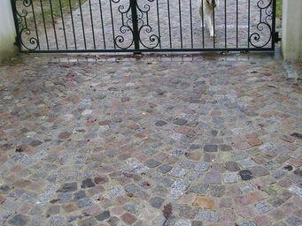 Pavés de Rue - granit ancien - Pavé D'extérieur
