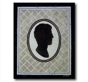 DEFACTO DÉCO - tableau décoratif camée homme - Tableau Décoratif