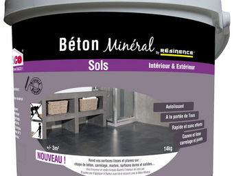RESINENCE - b�ton min�ral r�sinence - B�ton Cir� Sol