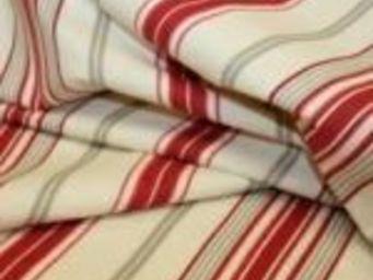 TISSUSDESLUNES - rayures - Tissu D'ameublement