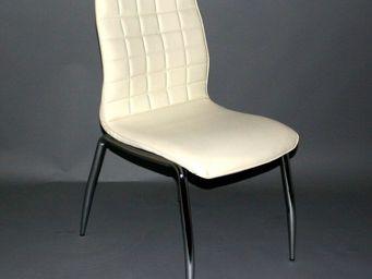 CLEAR SEAT - chaise blanc cassé grazia - Chaise
