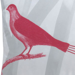 TROIS MAISON - coussin oiseau en soie - quatre brins - Coussin Carré