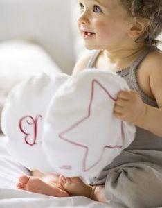 LES TOILES BLANCHES -  - Coussin Enfant