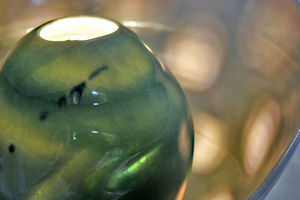 AGIR  Céramique - éclosion - Lampe À Poser À Led