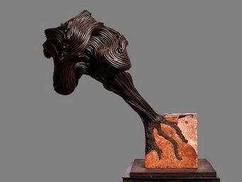 DEZIN-IN - variation sur le theme du cheloïde alchimique - Sculpture
