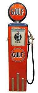 US Connection - pompe à essence gulf 195 cm - Statue