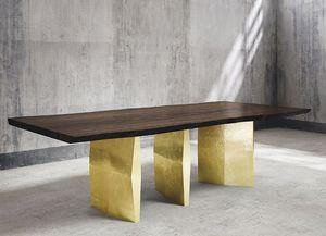 MARTIN EDEN - stonenge - Table De Repas Rectangulaire