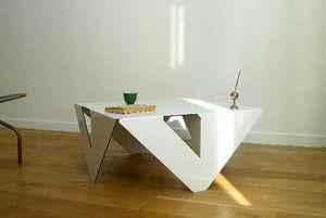 PIERRE GUILLOU DESIGN - 4x4 - Table Basse Carr�e