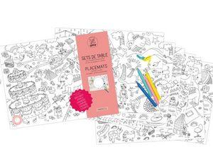 OMY - set fantastic - Carnet De Coloriage