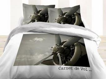 TODAY - housse de couette et taies d'oreiller flying - Housse De Couette