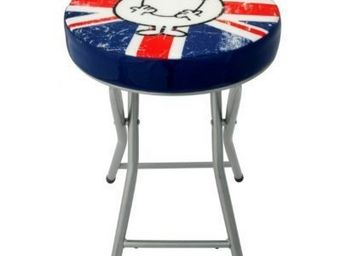 Avenue Of The Stars - tabouret pliant mr happy vintage london - Tabouret Pliant