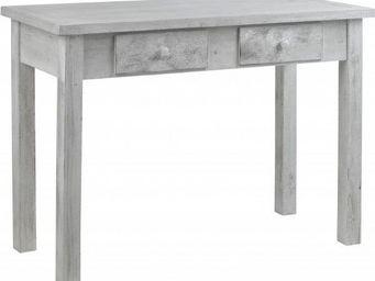 Hanjel - console blanchie à tiroirs arcachon - Console