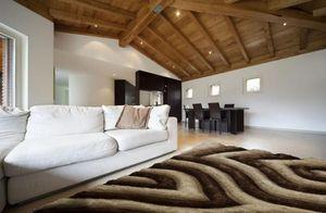 NAZAR - tapis avantgarde 160x230 beige - Tapis Contemporain