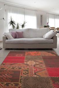NAZAR - tapis contempo 120x170 red - Tapis Contemporain
