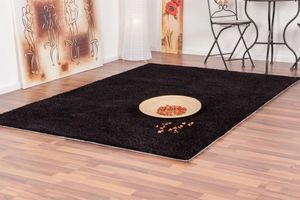 NAZAR - tapis focus 120x170 black - Tapis Contemporain