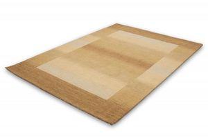 NAZAR - tapis gabbeh 90x160 beige - Tapis Contemporain