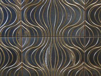 FAUVEL- NORMANDY CERAMICS - verner panton - Carrelage Mural