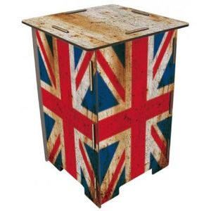 WERKHAUS - tabouret drapeaux anglais - Tabouret