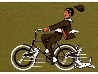 ILIAS - paillasson cycliste 40 x 60 cm - Paillasson