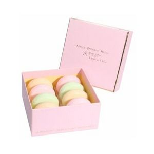 ATELIER CATHERINE MASSON - boîte 8 savons macaron, gourmandise rose - atelier - Savon