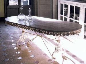 PROVENCE ET FILS - table basilic ovale longueur 160cm - Table De Repas Ovale