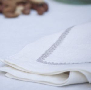 A CASA BIANCA - agropoli linen  - Serviette De Table