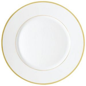 Raynaud - fontainebleau or (filet marli) - Assiette Plate
