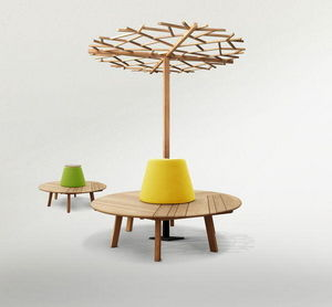 DEESAWAT - tiera circle with nest tree - Banc De Jardinage