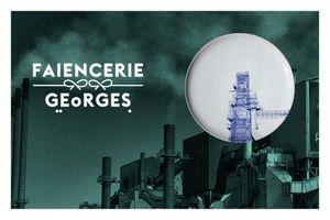 FAÏENCERIE GEORGES -  - Assiette Plate