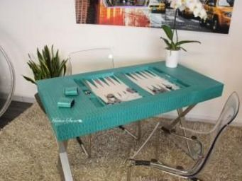 HECTOR SAXE -  - Table De Backgammon