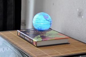 MAGNETIC LAND - atlas universel et globe en lévitation - Fontaine D'intérieur