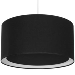 Metropolight - essentiel - suspension occultant ø39cm noir | susp - Suspension