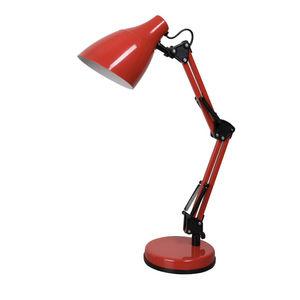 Corep - dexter - lampe de bureau rouge | lampe à poser cor - Lampe De Bureau