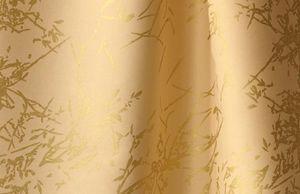 Dominique Picquier - branchage doré et métis uni seigle - Tissu D'ameublement