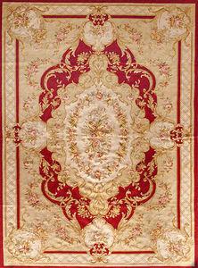 EDITION BOUGAINVILLE - stael rouge - Tapis D'aubusson