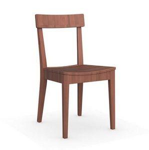 Calligaris - chaise italienne la locanda de calligaris noyer - Chaise