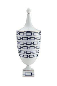Richard Ginori 1735 - catene nero - Vase Couvert