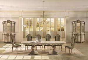 Angelo Cappellini -  - Table De Repas Ovale