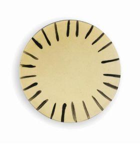 THREE SEVEN - stripes thin 2 - Assiette Plate